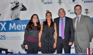 Dña. Alejandra García-Estrada, Dña. Dulce María Acevedo, el Dr. José Luis García-Estrada, el Dr. Enrique de Alava