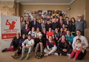 Jugadoras y responsables Santander Tour ©ElMarcoRojo